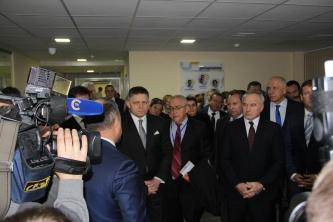 Визит на предприятие NatiVita премьер-министра Словакии Роберта Фицо
