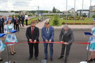 Церемония открытия комплекса Нативита